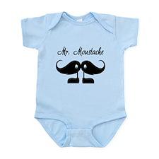 Mr Moustache Infant Bodysuit