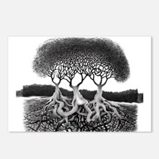 Three Tree Postcards (Package of 8)