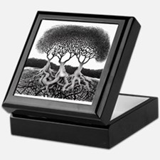 Three Tree Keepsake Box