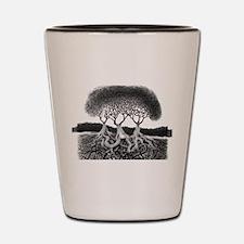 Three Tree Shot Glass