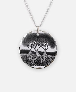 Three Tree Necklace