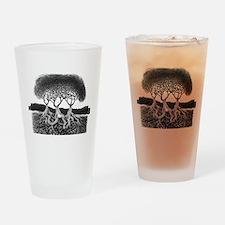 Three Tree Drinking Glass