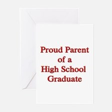 Proud Parent of a High School Greeting Cards (Pack
