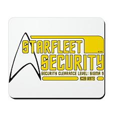 Starfleet Security Mousepad