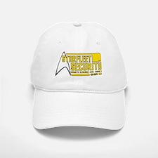 Starfleet Security Baseball Baseball Cap