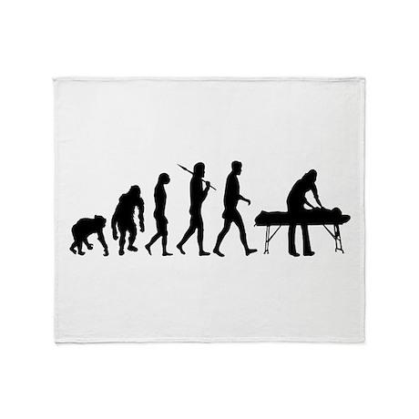 Physiotherpist Throw Blanket