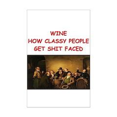 wine joke Posters