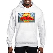 American Lobster Cigar Label Hoodie