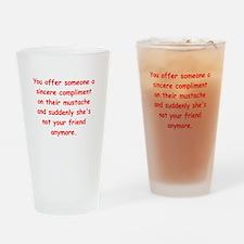 male joke Drinking Glass