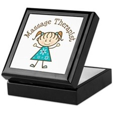 Massage Therapist Gift Keepsake Box