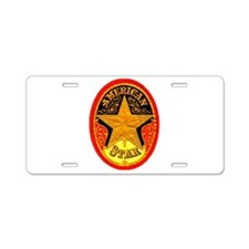 American Star Cigar Label Aluminum License Plate