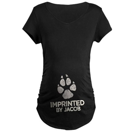 Imprinted by Jacob Maternity Dark T-Shirt