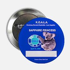 Sapphire KOALA 2008 Nametag - Button