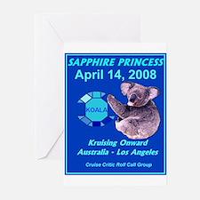 Sapphire KOALA 2008 - Greeting Cards (Pk of 10