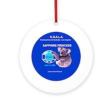 Sapphire KOALA 2008 - Ornament (Round)