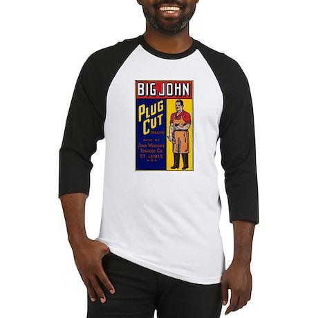 Big John Cigar Label Baseball Jersey