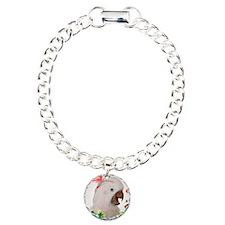 Moluccan Cockatoo Charm Bracelet, One Charm