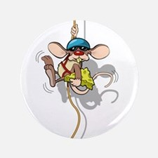 "Climbing Rat 3.5"" Button"