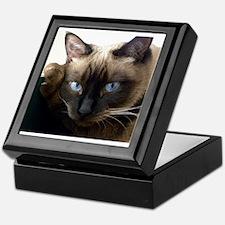 Unique Siamese cats Keepsake Box