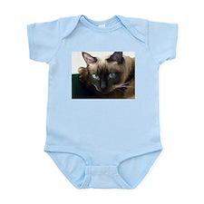 Cute Siamese cat Infant Bodysuit