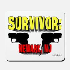 Survivor: Newark NJ Mousepad