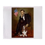 Lincoln / Basset Hound Throw Blanket