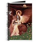 Seated Angel & Basset Journal