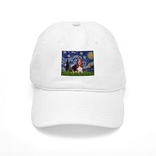 Starry / Basset Hound Baseball Cap