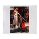 The Accolade & Basset Throw Blanket