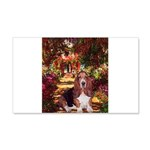 The Path & Basset 20x12 Wall Decal
