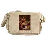 The Path & Basset Messenger Bag