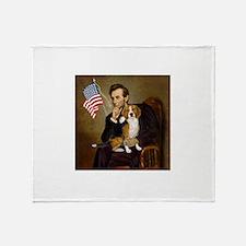 Lincoln & Beagle Throw Blanket