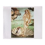 Venus & Beagle Throw Blanket