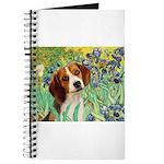 Irises & Beagle Journal