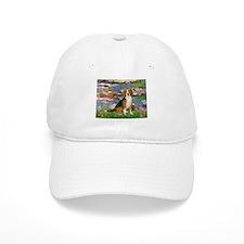 Lilies (#2) - Beagle #7 Baseball Cap