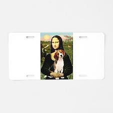 Mona's Beagle #1 Aluminum License Plate
