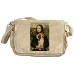 Mona's Beagle #1 Messenger Bag