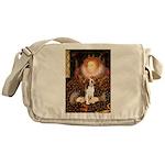 Queen / Beagle (#1) Messenger Bag