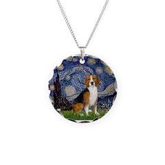 Starry Night & Beagle Necklace