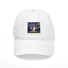 Starry Night / Beagle Baseball Cap
