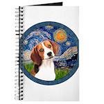 Starry Night Beagle #1 Journal