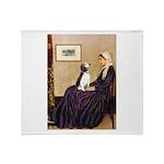 WMom / Beagle (#2) Throw Blanket