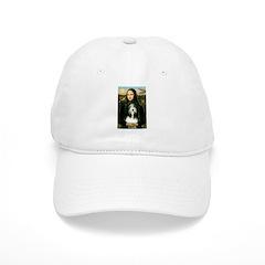 Mona / Bearded Collie Baseball Cap