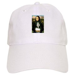 Mona / Bearded Collie Baseball Cap