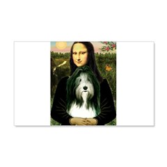 Mona / Bearded Collie Wall Decal
