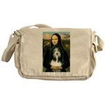 Mona / Bearded Collie Messenger Bag
