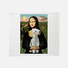 Mona / Bedlington(T) Throw Blanket