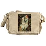 Ophelia / Bedlington T Messenger Bag