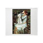 Ophelia / Bedlington T Throw Blanket