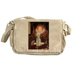 Queen / Bedlington T Messenger Bag